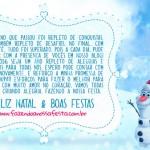 Cartão Natal Fazendo a Nossa Festa 2016 !