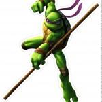 Centro de Mesa Tartarugas Ninjas Donne Parte 1