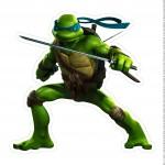 Centro de Mesa Tartarugas Ninjas Leonardo Parte 1