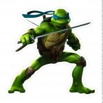 Centro de Mesa Tartarugas Ninjas Leonardo Parte 2