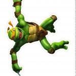 Centro de Mesa Tartarugas Ninjas Michelangelo Parte 2