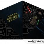 Cone Guloseimas 4 lados Star Wars