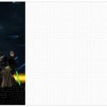 Convite, Cardápio ou Cronograma em Z Star Wars