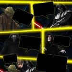 Convite Gibi Star Wars