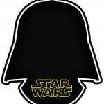 Convite Star Wars Mascara Dart Vader