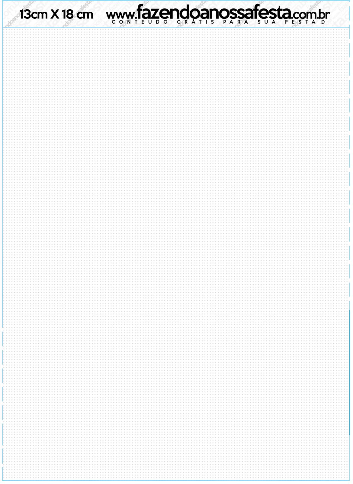Convite com Envelope Realeza Azul
