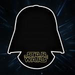 Convite com Frame Star Wars