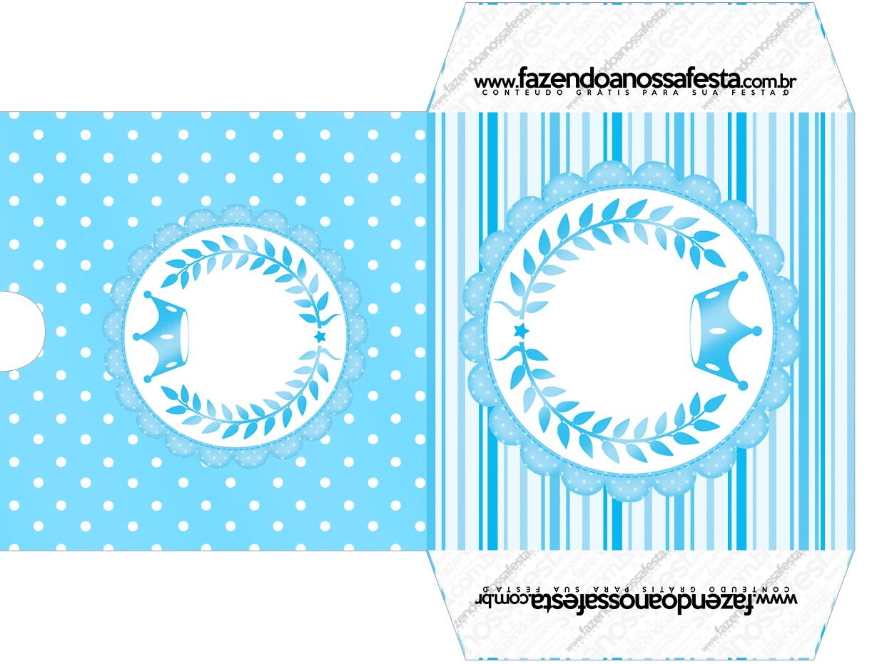Envelope CD DVD Realeza Azul