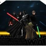 Envelope Convite Star Wars