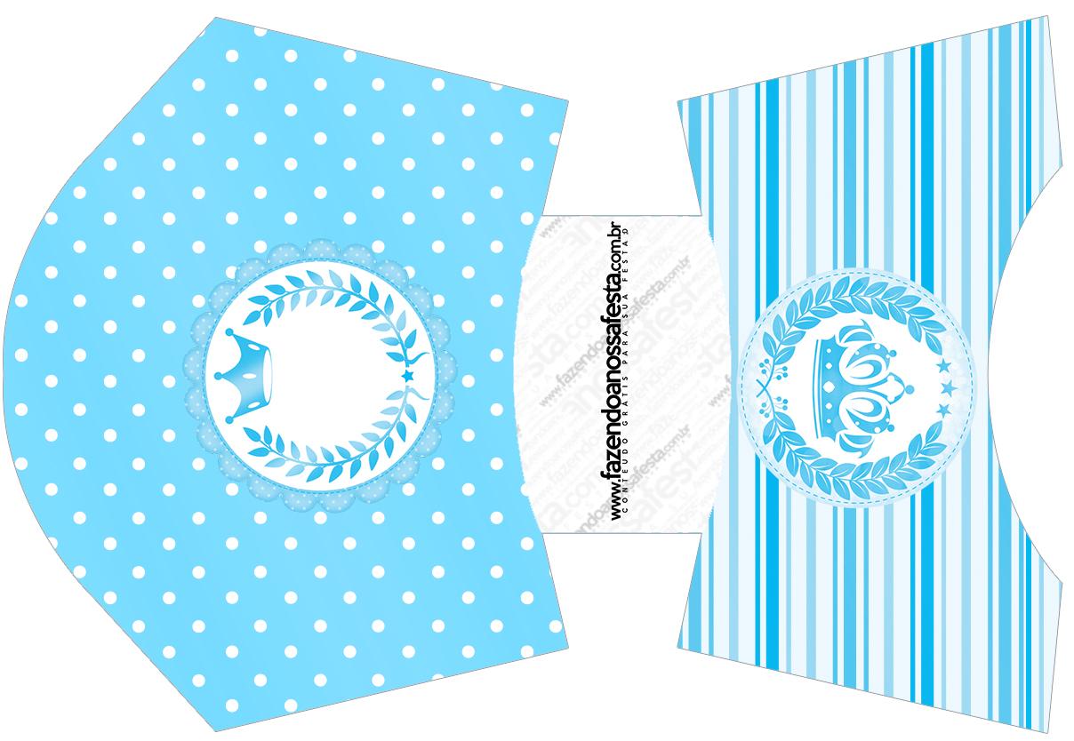 Envelope Fritas Realeza Azul