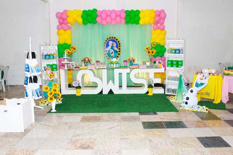 Festa Frozen Fever da Lowise