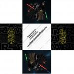 Forminhas Docinhos Quadrada Star Wars