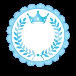 Frame Realeza Azul