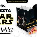Kit Festa Star Wars + 100 Moldes Grátis Lançamento