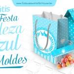 Kit Festa Realeza Azul para Imprimir