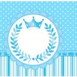 Lata de Leite Realeza Azul