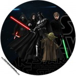 Latinhas, topppers e Tubetes Star Wars