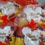 Lembrancinha Almofada Personalizada Festa Mickey do Nicolas