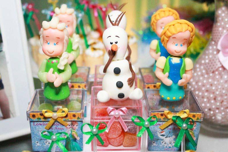 Lembrancinhas festa Festa Frozen Fever da Lowise