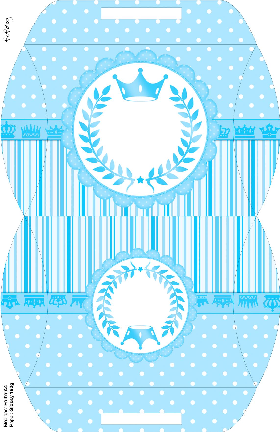 Maleta Realeza Azul