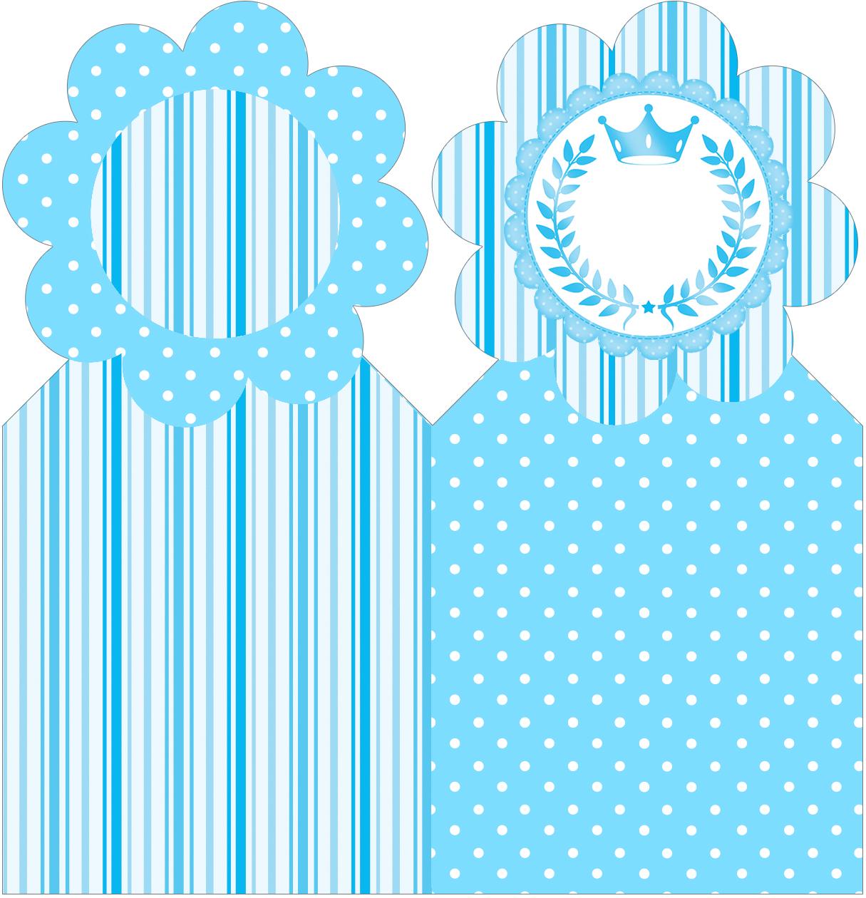 Marcador de páginas Realeza Azul