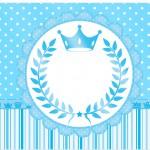 Marmita pequena Realeza Azul