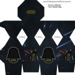 Meia Caixa Bala Star Wars