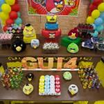 Mesa Festa Angry Birds