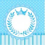 Mini Confeti Realeza Azul