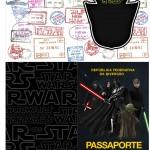 Molde Passaporte Star Wars