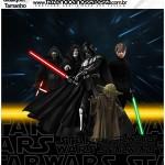 Molde Quadrado Star Wars