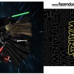 Molde Saquinho de Chá Star Wars