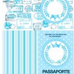 Passaporte Realeza Azul