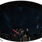 Placa Elipse Star Wars