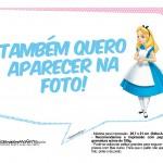 Plaquinhas Alice no País das Maravilhas 3