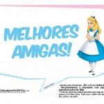 Plaquinhas Alice no País das Maravilhas 4