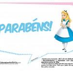 Plaquinhas Alice no País das Maravilhas 8