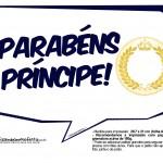 Plaquinhas Coroa de Príncipe Azul Marinho 7