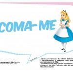 Plaquinhas Divertidas Alice no País das Maravilhas 14