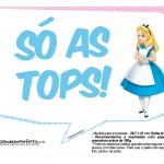 Plaquinhas Divertidas Alice no País das Maravilhas 18