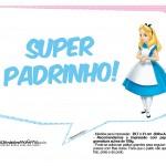 Plaquinhas Divertidas Alice no País das Maravilhas 3
