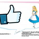 Plaquinhas Divertidas Alice no País das Maravilhas 7