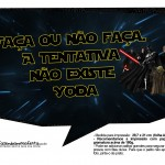 Plaquinhas Divertidas Star Wars 1