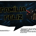 Plaquinhas para Foto Star Wars 10