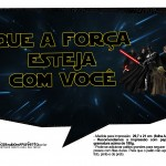 Plaquinhas Divertidas Star Wars