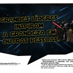 Plaquinhas Divertidas Star Wars 2