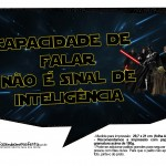 Plaquinhas Divertidas Star Wars 4