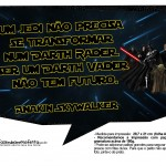 Plaquinhas Divertidas Star Wars 6