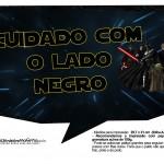 Plaquinhas para Foto Star Wars 8