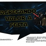 Plaquinhas para Foto Star Wars 9